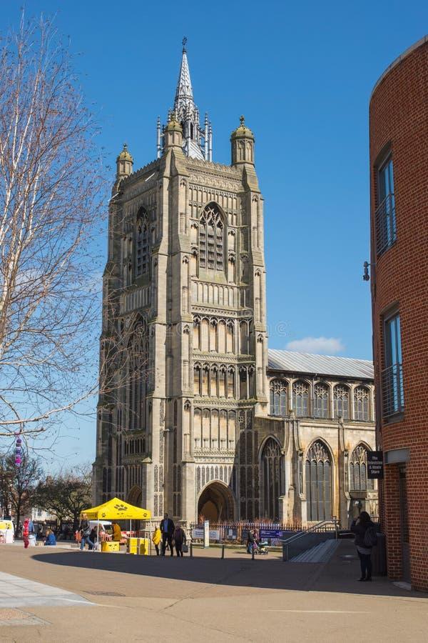 Église de St Peter Mancroft, Norwich, Norfolk, Angleterre image libre de droits