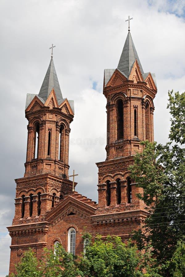 Église de StBarbara à Vitebsk photo stock
