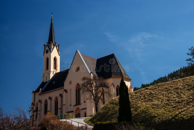Église de StPaul dans Prein un der Rax, Autriche photographie stock