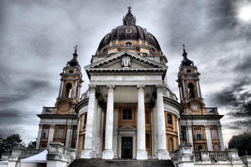 Église de Superga - HDR photo libre de droits