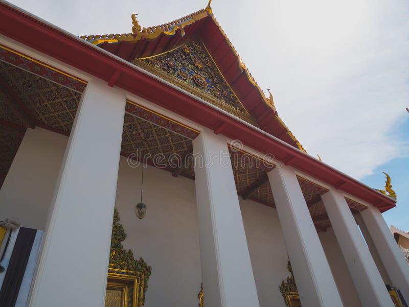Église de temple bouddhiste thaïlandais images libres de droits