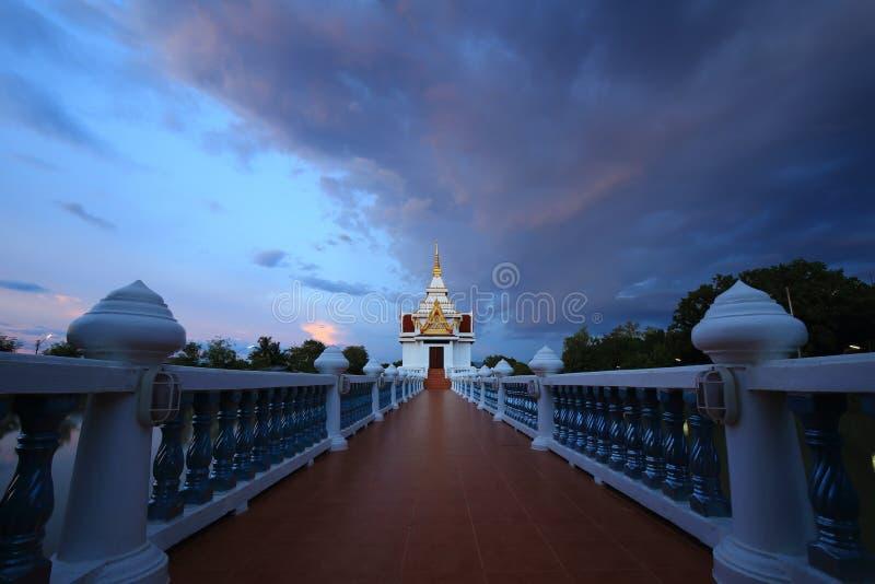 Église de temple de Sawang Arom, sabot, Thaïlande photographie stock libre de droits