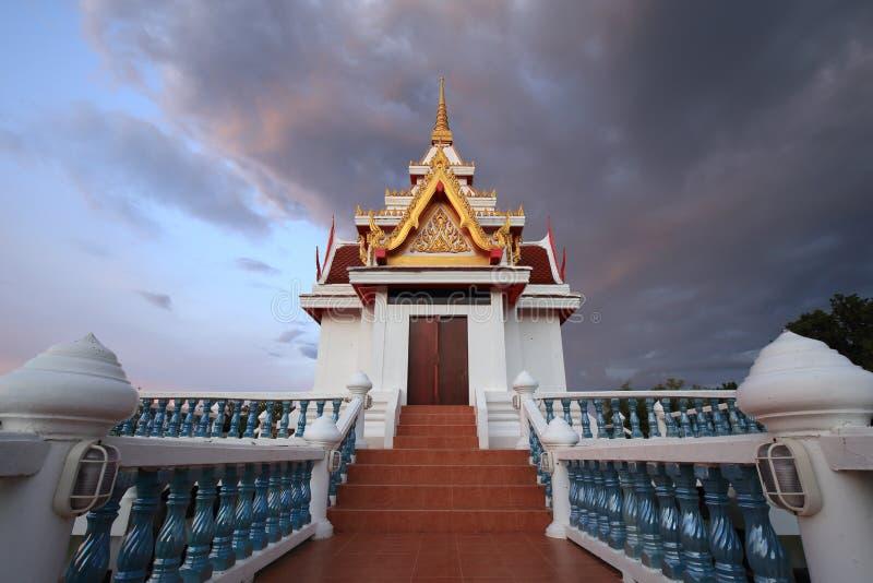 Église de temple de Sawang Arom, sabot, Thaïlande images libres de droits
