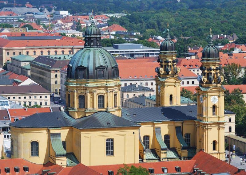 Église de Theatine à Munich photos stock