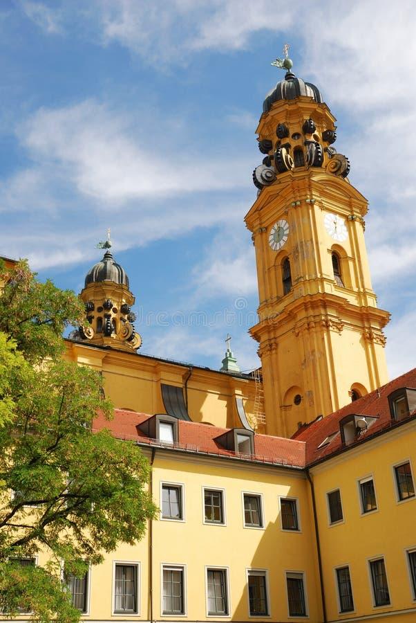 Église de Theatiner à Munich photographie stock libre de droits