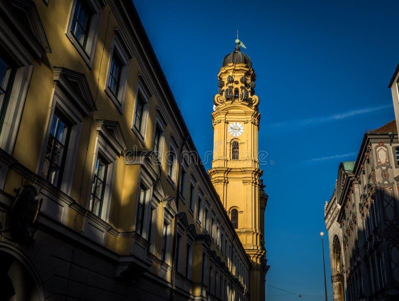Église de Theatiner à Munich image stock