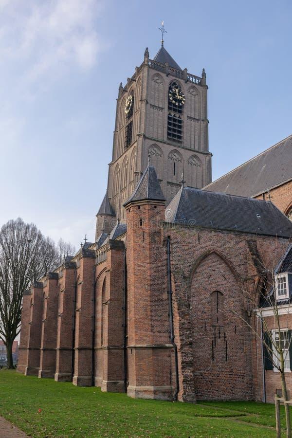 Église de Tiel image libre de droits