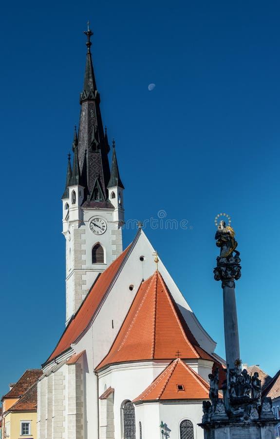 Église de tour de Sankt Georg photographie stock