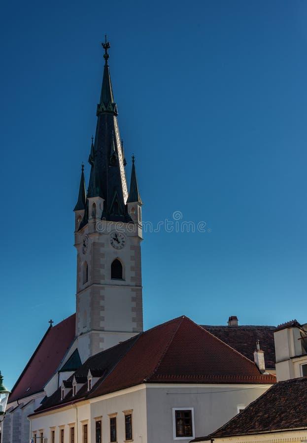 Église de tour de Sankt Georg image stock
