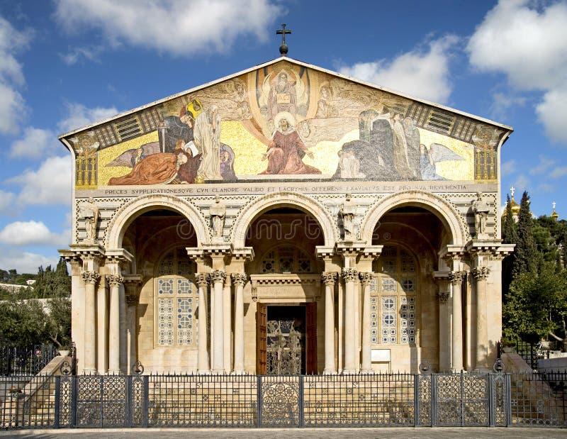 Église de toutes les nations 1 photo stock