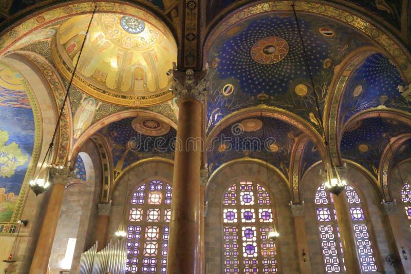 Église de toutes les nations (basilique de l'agonie) photographie stock libre de droits