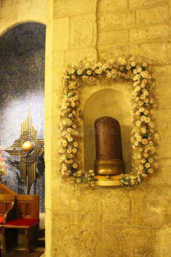 Église de toutes les nations, le détail d'autel, Jérusalem, Gethsemane, Israël photo libre de droits