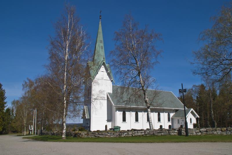 Église de Trømborg (sud, sud-ouest) photos libres de droits