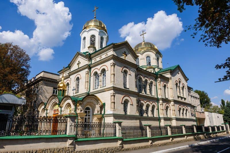Église de transfiguration à Chisinau, Moldau photo libre de droits