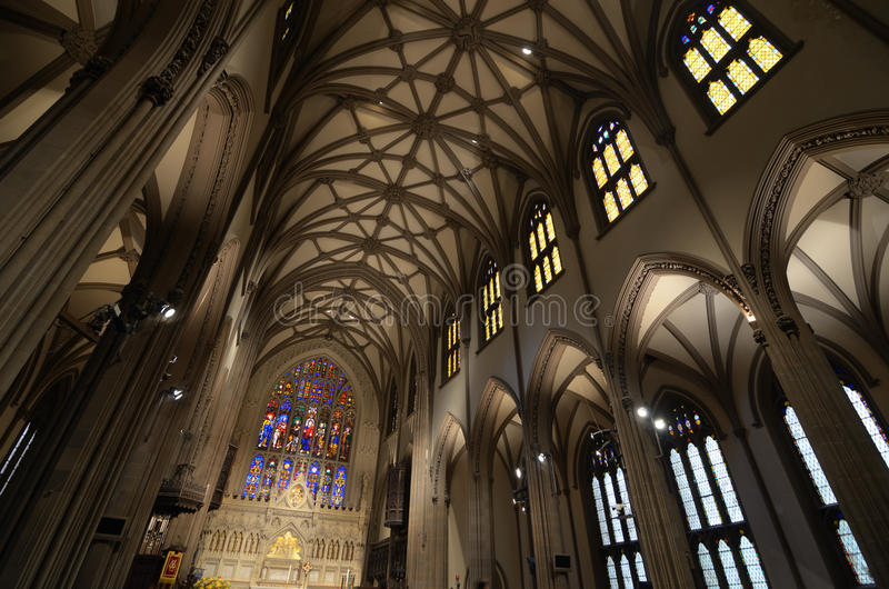 Église de trinité image libre de droits