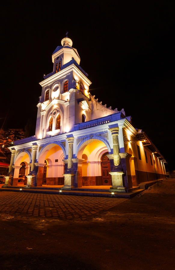 Église de Turi, Equateur photographie stock libre de droits