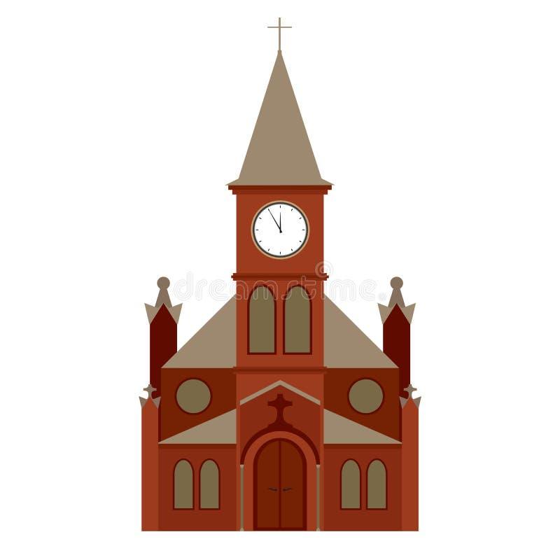Église de vecteur illustration de vecteur