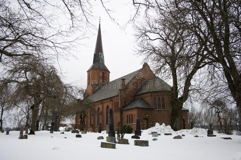 Église de Vestby photographie stock libre de droits