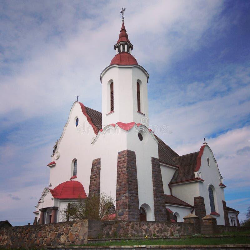 Église de Vierge Marie, Soly, Belarus images libres de droits
