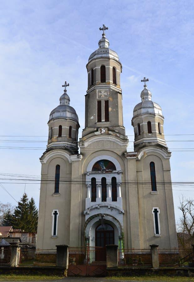 Église de village de Barzava image libre de droits
