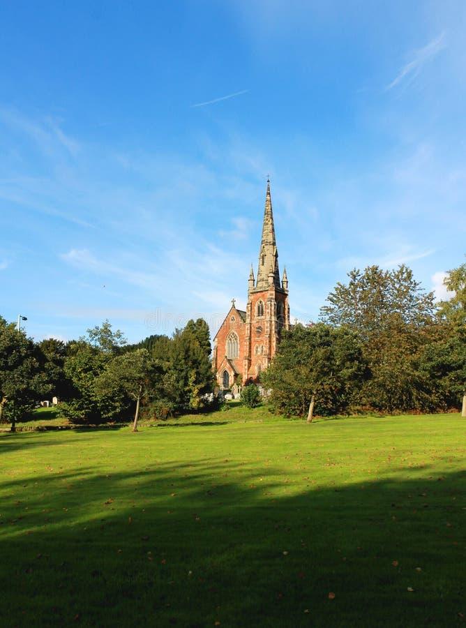 Église de village de Keele, le Staffordshire R-U photo stock