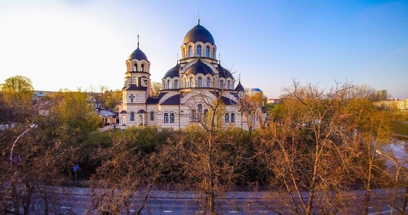 Église de Vilnius images stock