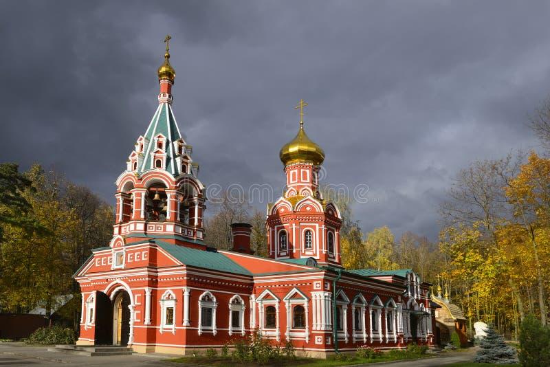 Église de Znamenskaya (a été construit en 1683) image libre de droits