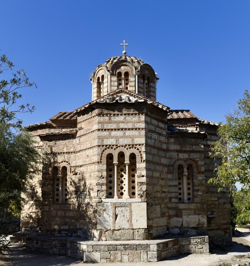 Église des apôtres saints photos stock