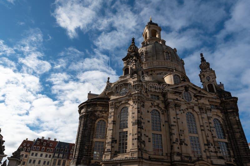 Église Dresde Allemagne de Frauenkirche photo stock