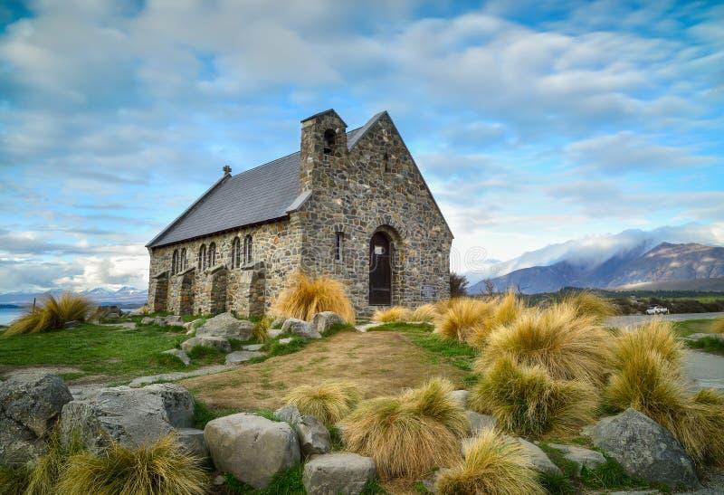 Église du bon berger construit depuis 1935, lac Tekapo, nouveau Z photos stock