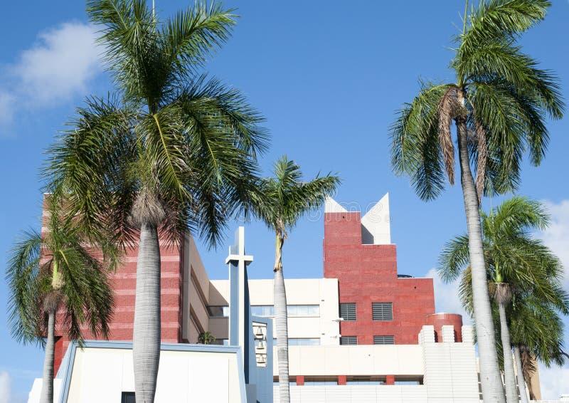 Église du centre de Miami photo libre de droits