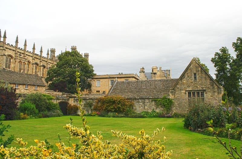 Église du Christ. Jardin de mémorial de guerre. Oxford, R-U image stock