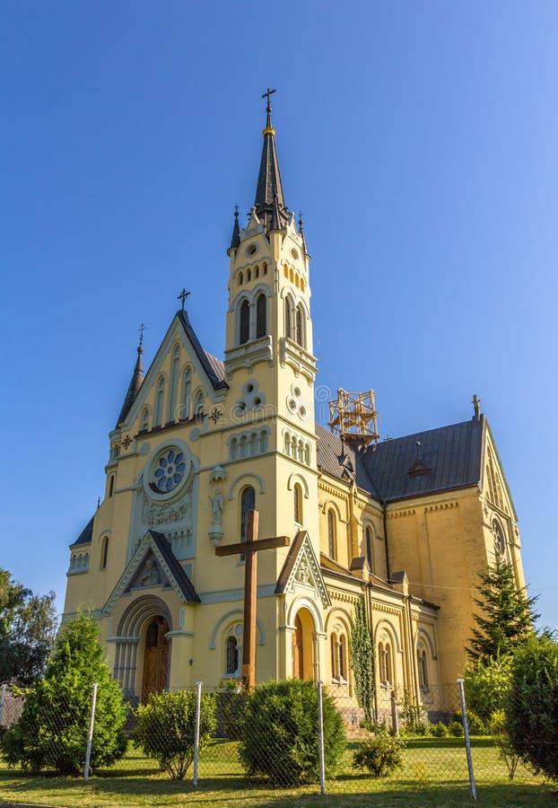 Église du festin de la croix dans Fastiv image stock