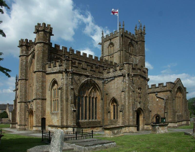 Église du ` s de St Bartholomew, Crewkerne Somerset, R-U photos stock