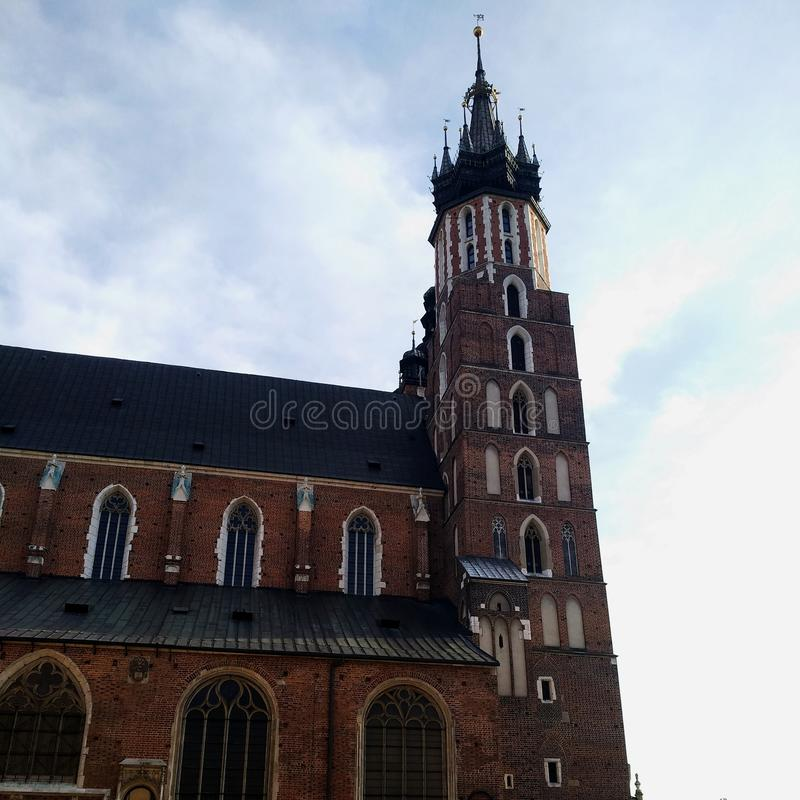 Église du ` s de St Mary à Cracovie photos stock