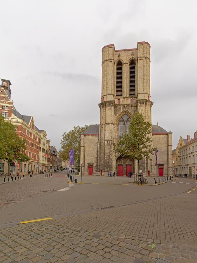 Église du ` s de St Michael, Gand, Belgique images stock