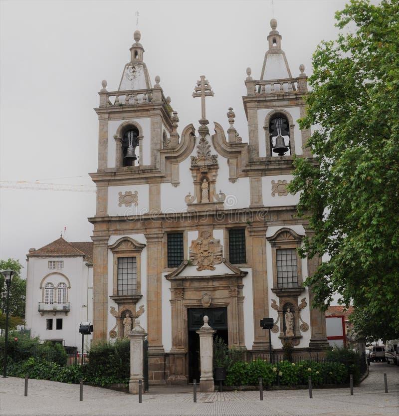 Église du ` s de St Peter - Vila Real - Portugal image libre de droits