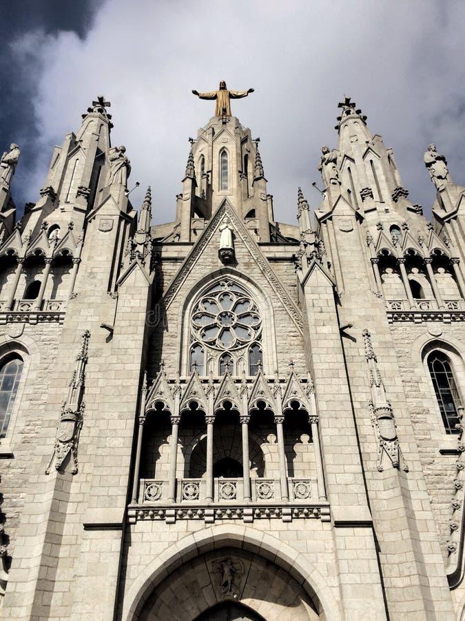 Église du ` s de Tibidabo image libre de droits