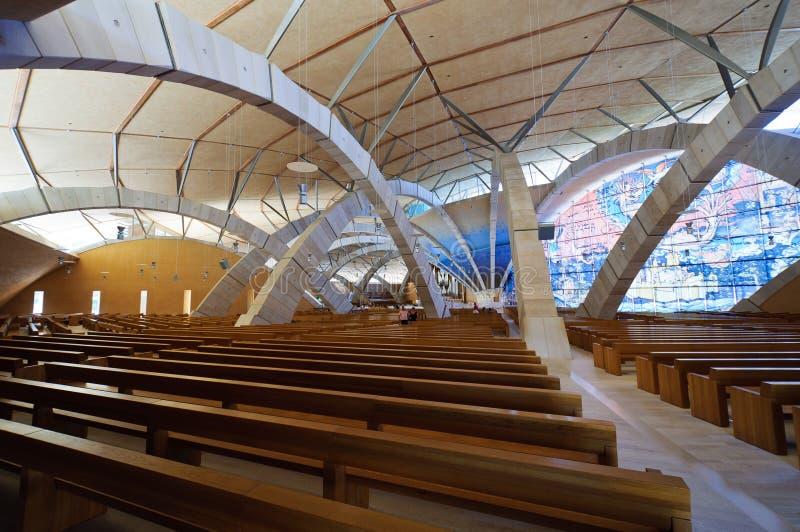 Église du saint Pio photographie stock