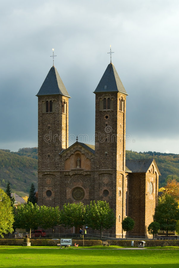 Église en Allemagne photographie stock libre de droits