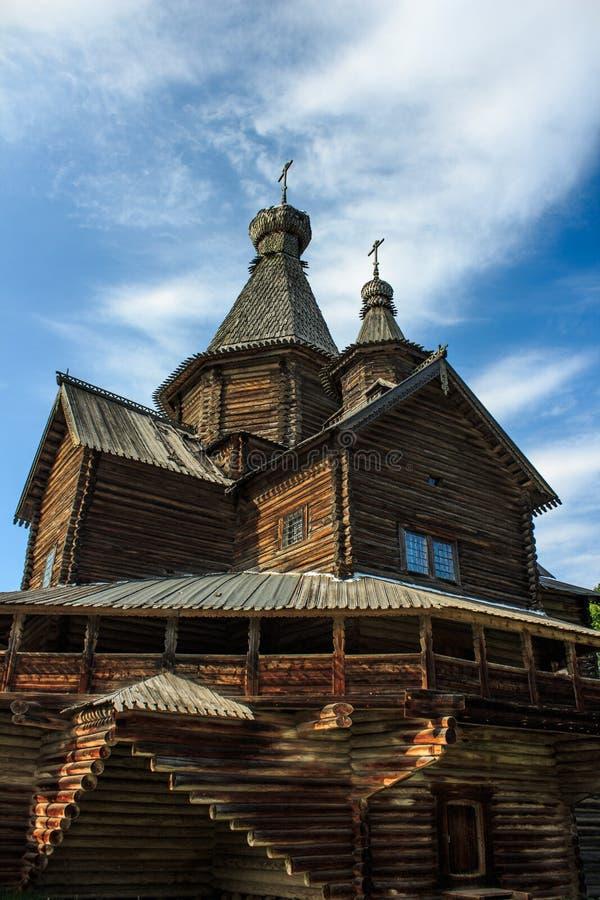 Église en bois photo stock