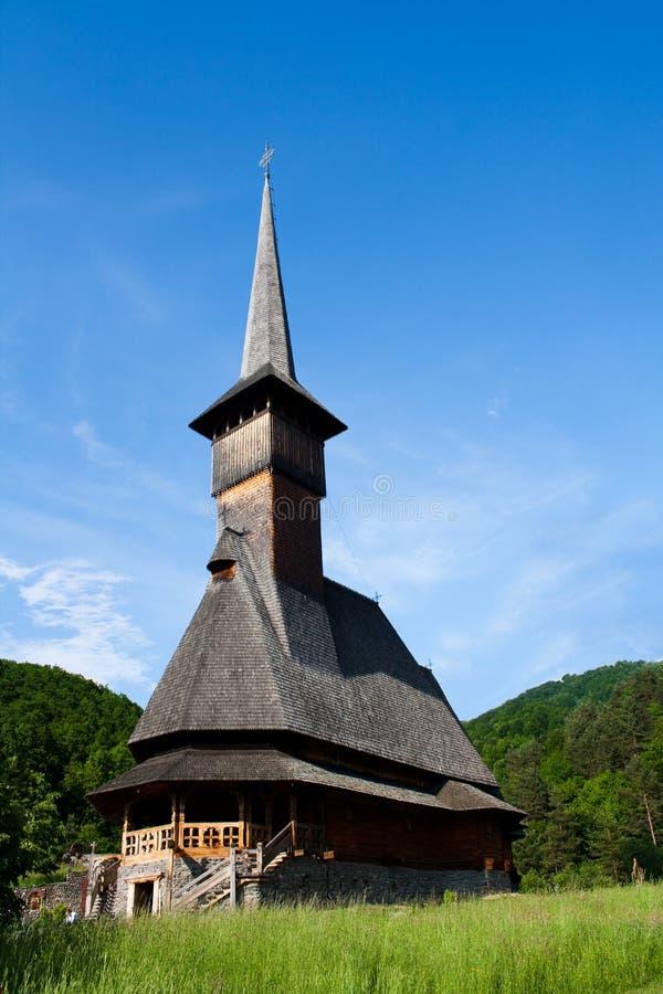 Église en bois dans Maramures photos stock