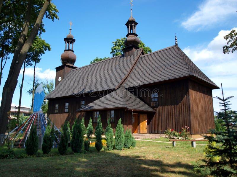Église en bois de St Dorothy photographie stock