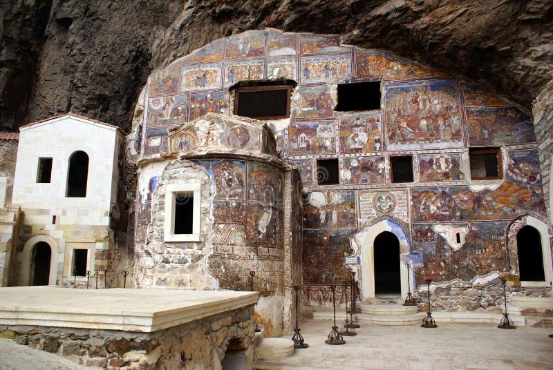 Église en caverne images libres de droits