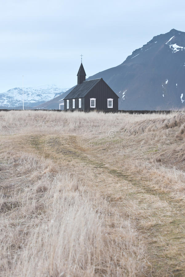 Église en Islande images libres de droits