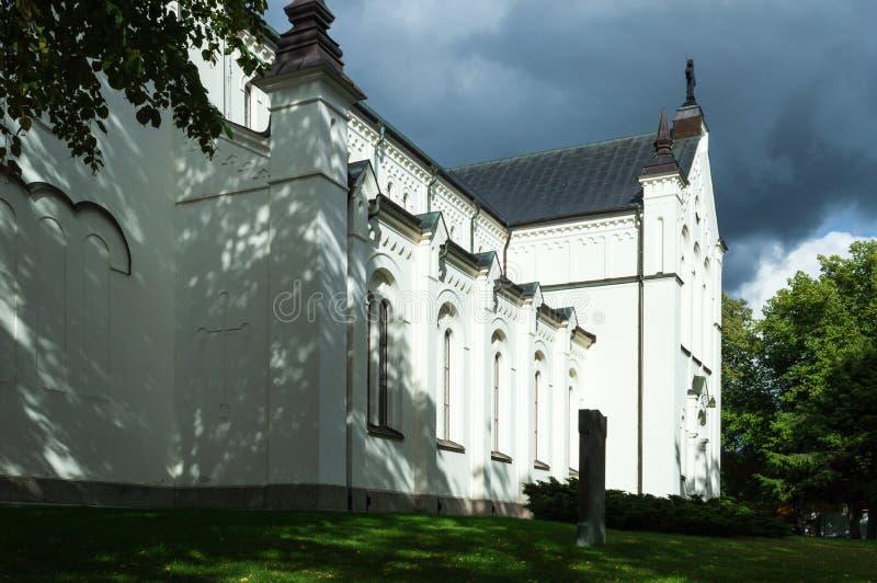 Église en Nora, Suède photo stock
