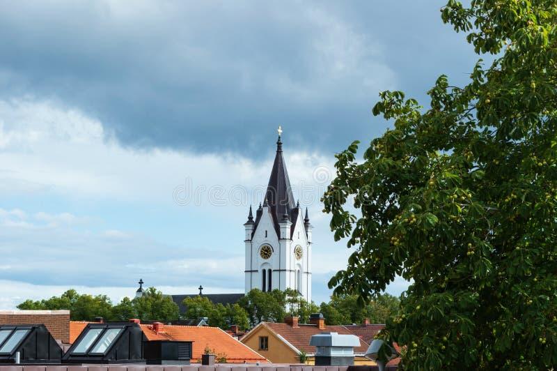 Église en Nora, Suède photographie stock libre de droits