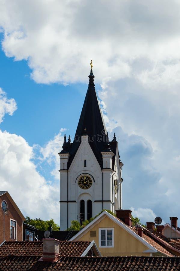 Église en Nora, Suède photo libre de droits