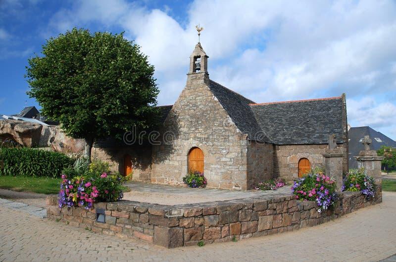 Église en pierre dans Brittany photo stock