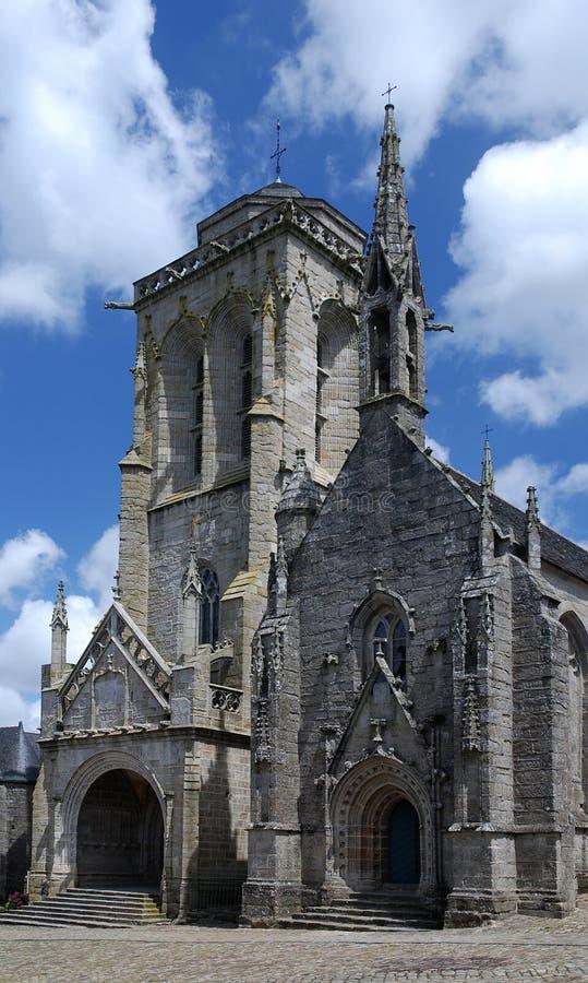 Église en pierre dans Brittany photographie stock